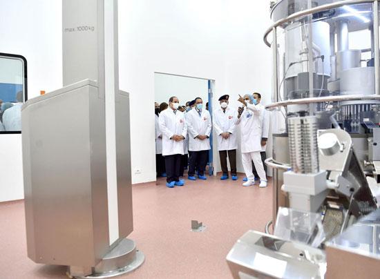 افتتاح مدينة الأدوية المقامة داخل منطقة الخانكة في محافظة القليوبية (1)