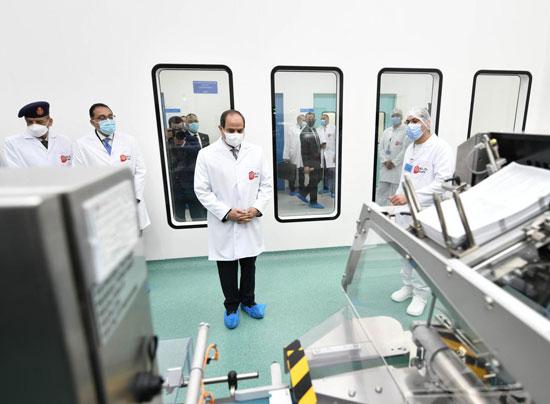 افتتاح مدينة الأدوية المقامة داخل منطقة الخانكة في محافظة القليوبية (5)