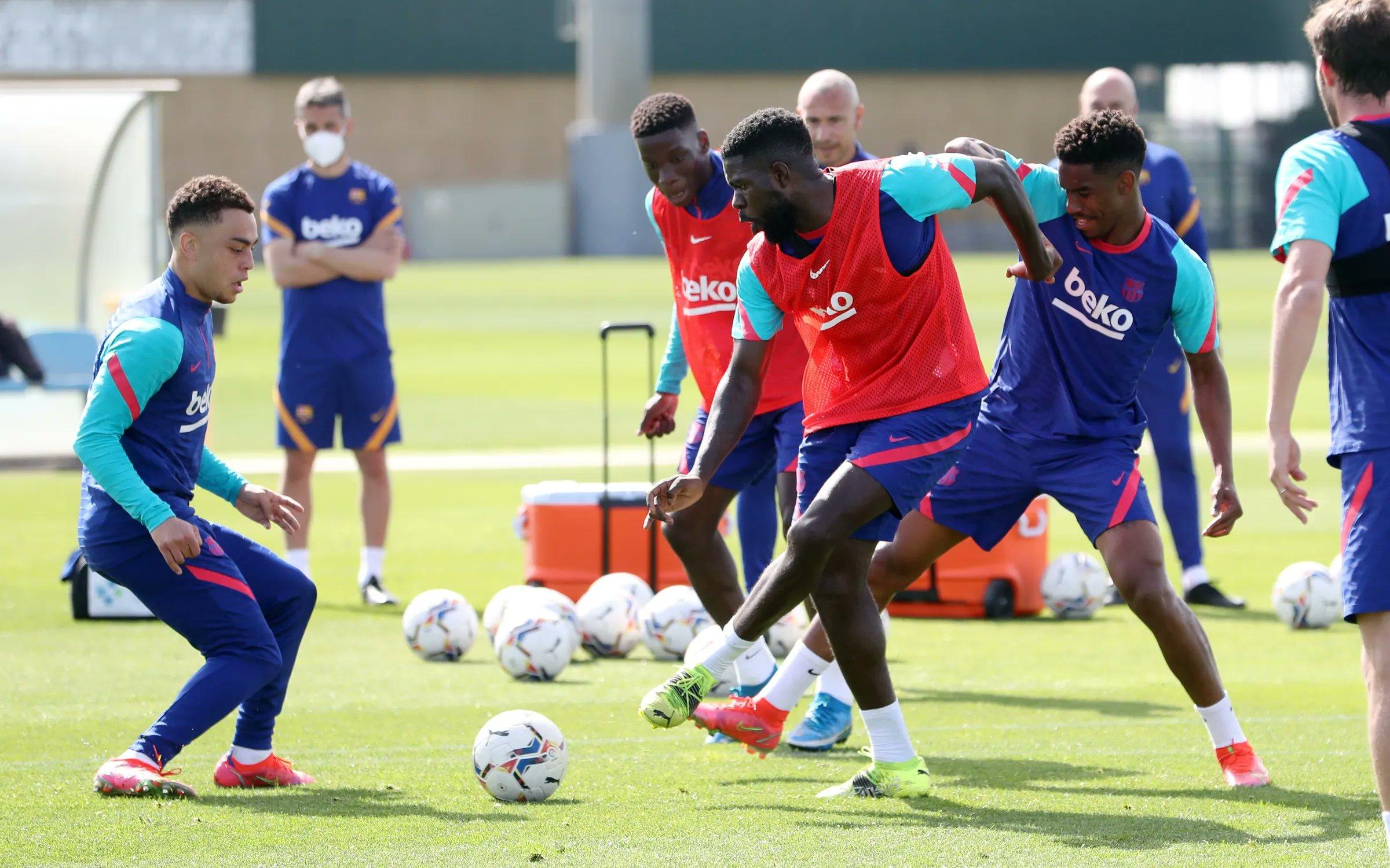 تدريبات برشلونة  (5)