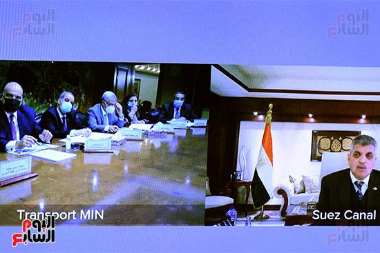 رئيس الوزراء يترأس الاجتماع الأول للمجلس الأعلى للموانئ  (2)