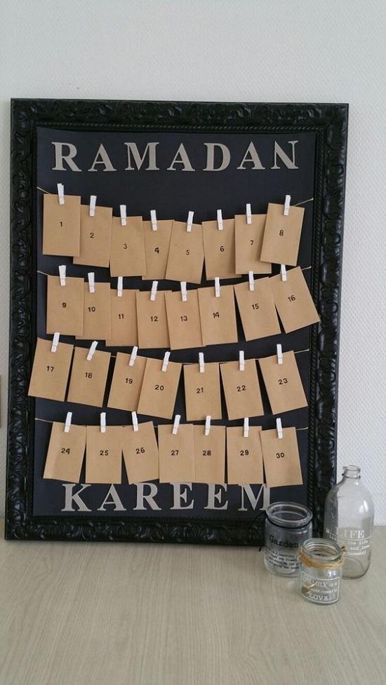 ديكورات رمضان.. إمساكية