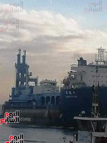 الكراكة مهاب مميش تنضم لأسطول قناة السويس (18)
