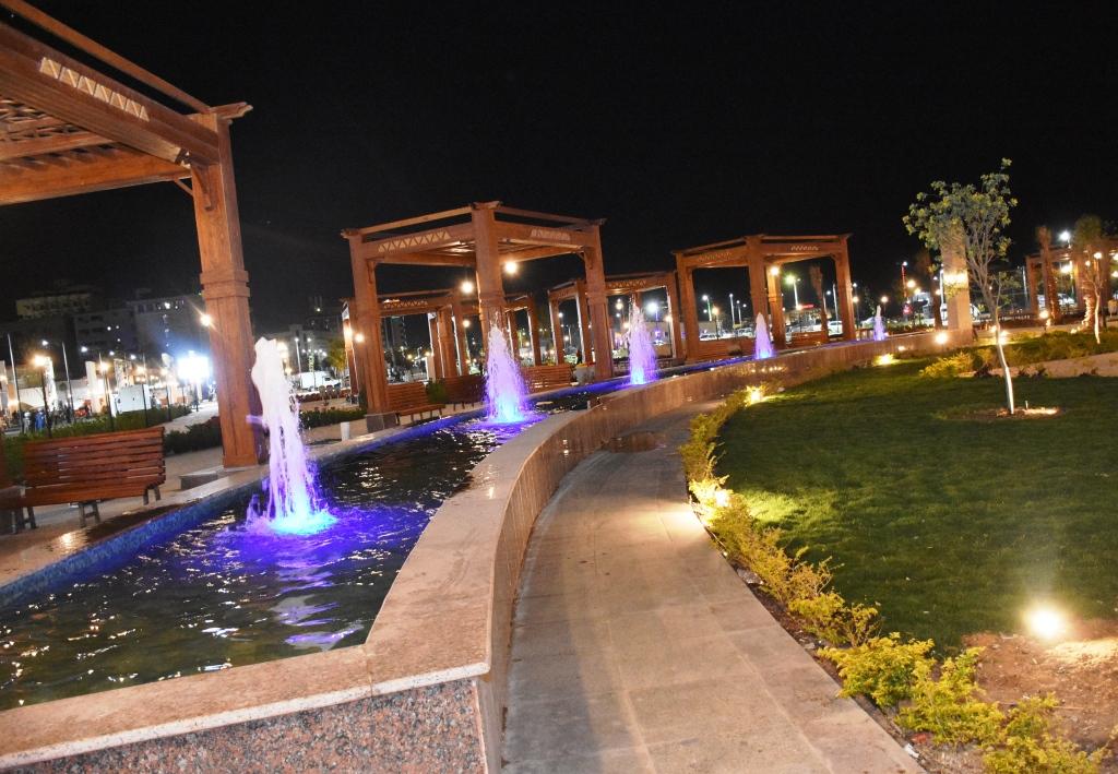 بلازا درة النيل ليلا