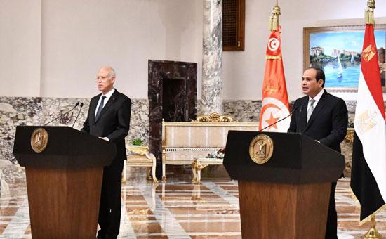 القمة المصرية التونسية (2)