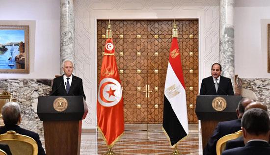 القمة المصرية التونسية (3)