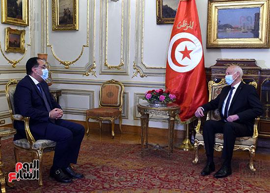 الرئيس التونسى يستقبل رئيس الوزراء بمقر قصر القبة (2)