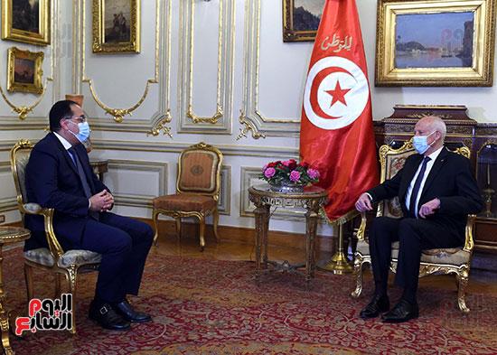 الرئيس التونسى يستقبل رئيس الوزراء بمقر قصر القبة (4)