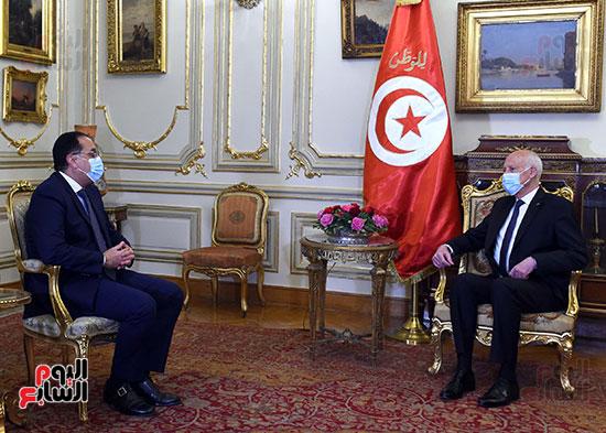 الرئيس التونسى يستقبل رئيس الوزراء بمقر قصر القبة (3)