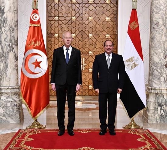 القمة المصرية التونسية (9)