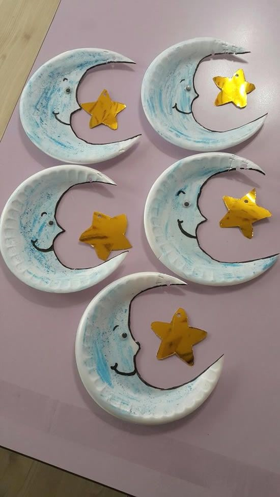 ديكورات رمضان من الورق والفوم (1)