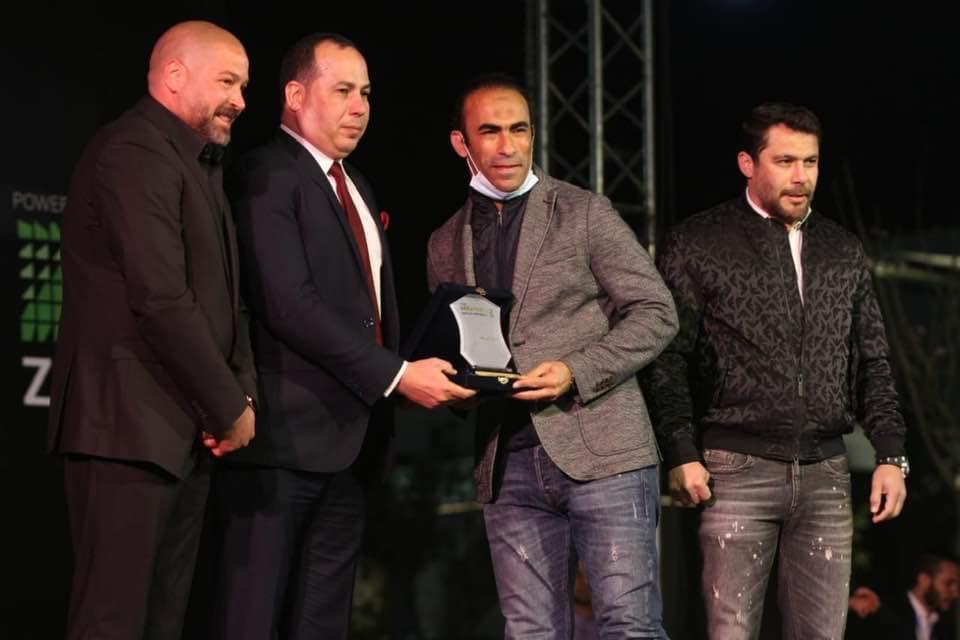 تكريم سيد عبد الحفيظ في رابطة النقاد الرياضية
