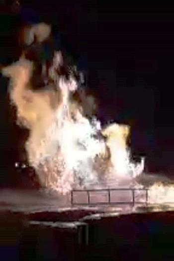 انفجار-خط-غاز-أبو-الوفا