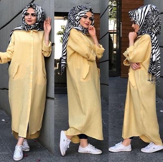 أزياء رمضانية تصلح للمحجبات وغير المحجبات  (43)