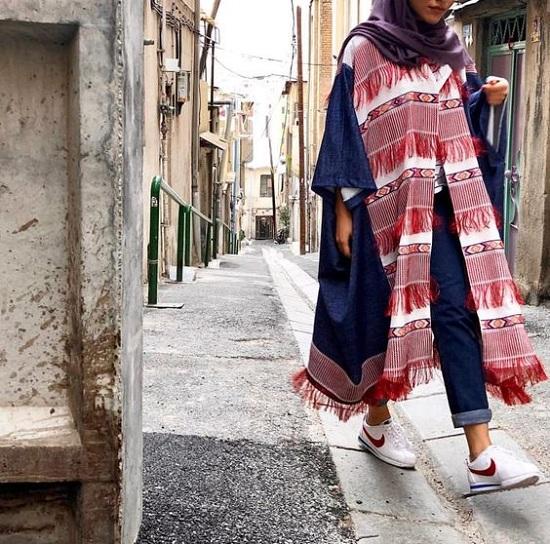 أزياء رمضانية تصلح للمحجبات وغير المحجبات  (55)