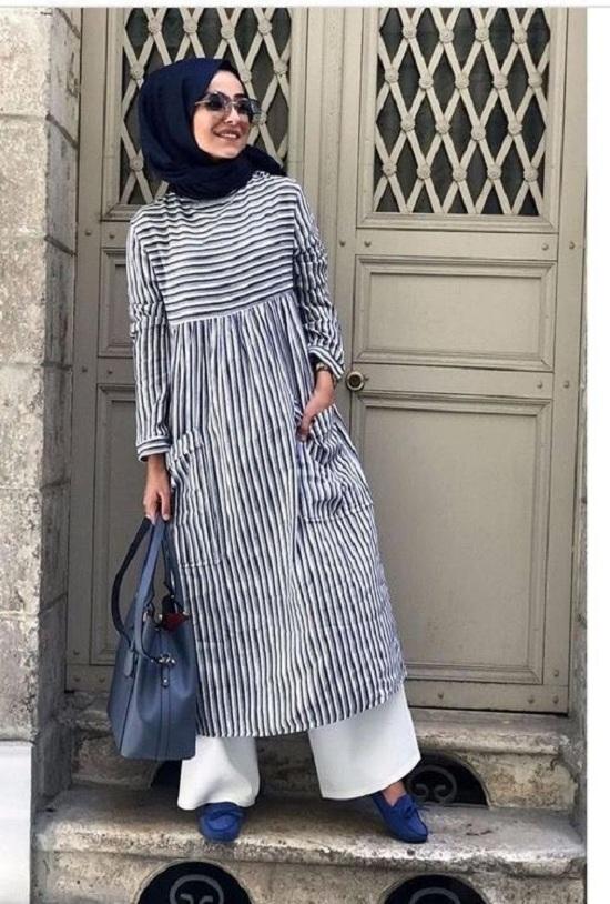 أزياء رمضانية تصلح للمحجبات وغير المحجبات  (45)