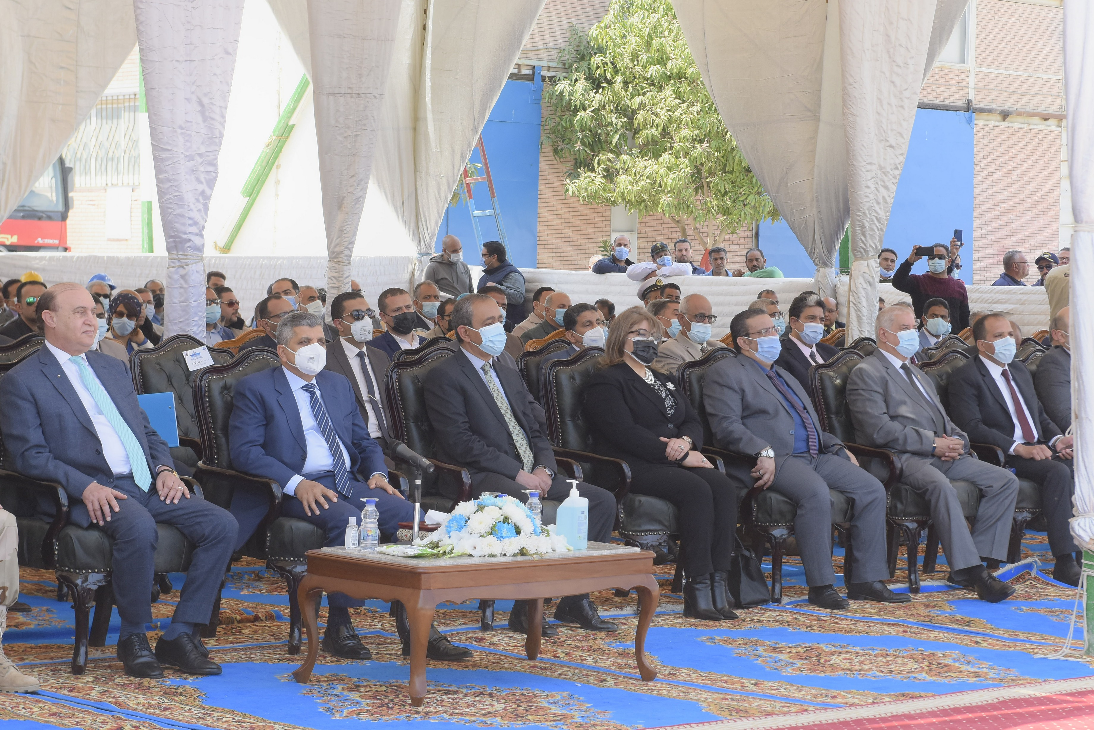 حفل تدشين الكراكة مهاب مميش (5)