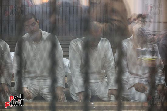 النطق بالحكم في قضية داعش التجمع الاول (10)