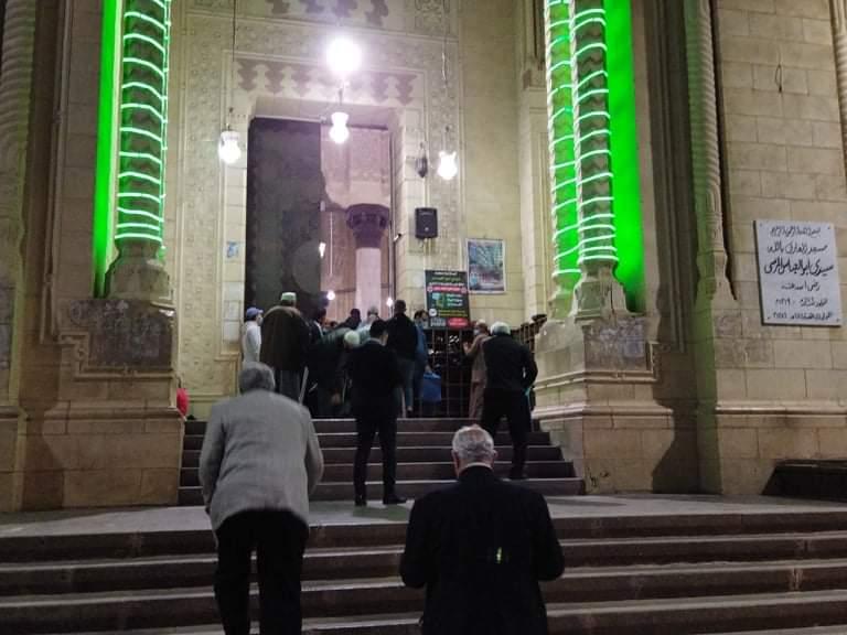 صلاة التراويح بمسجد أبو العباس  (1)
