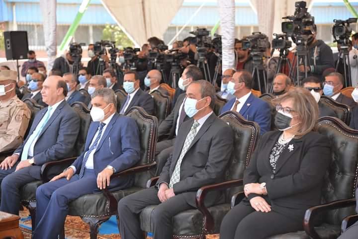 حفل تدشين الكراكة مهاب مميش (7)