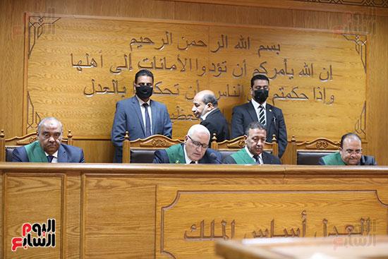 النطق بالحكم في قضية داعش التجمع الاول (18)