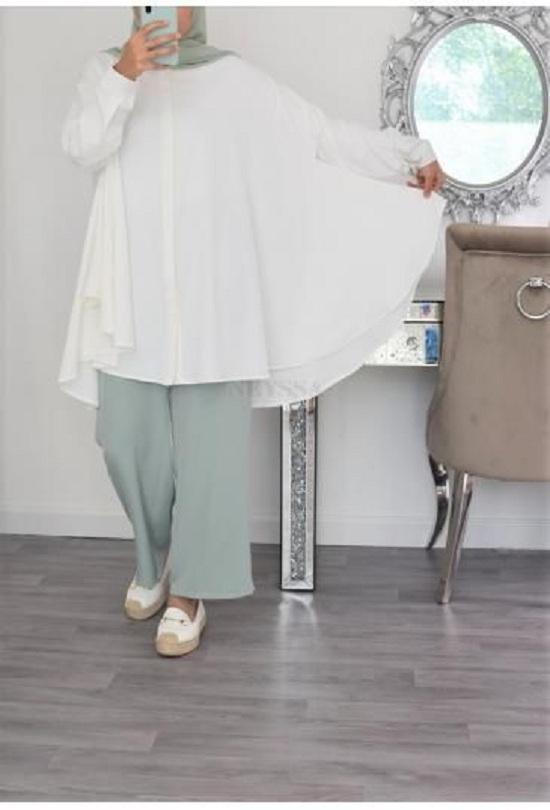أزياء رمضانية تصلح للمحجبات وغير المحجبات  (47)