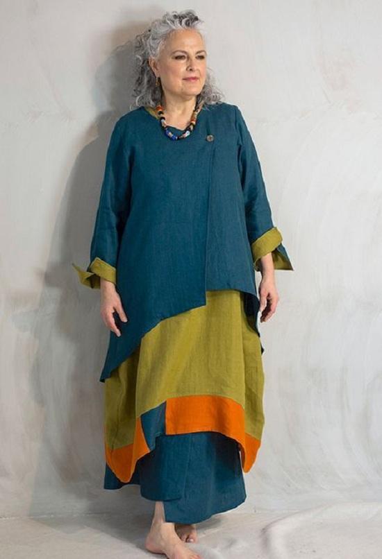 أزياء رمضانية تصلح للمحجبات وغير المحجبات  (29)