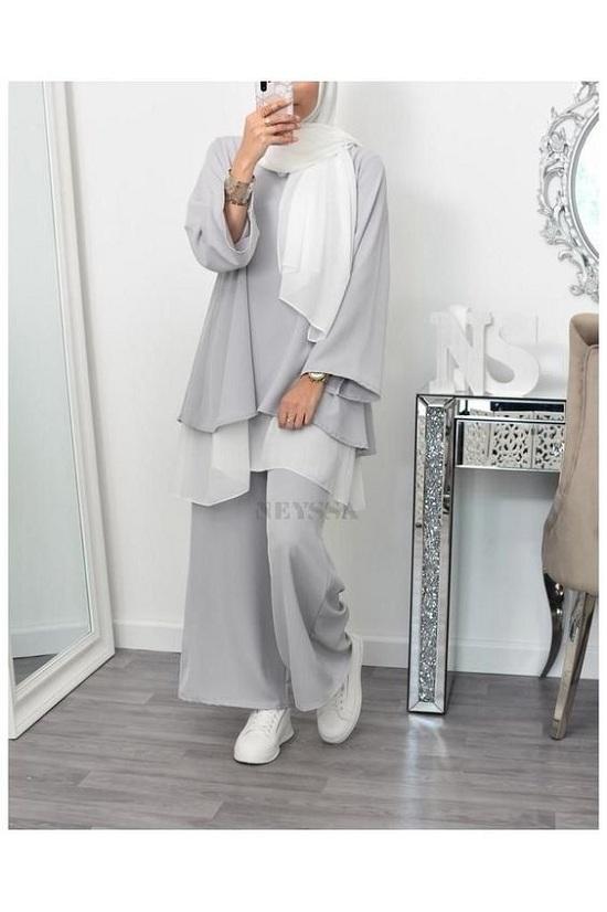 أزياء رمضانية تصلح للمحجبات وغير المحجبات  (48)