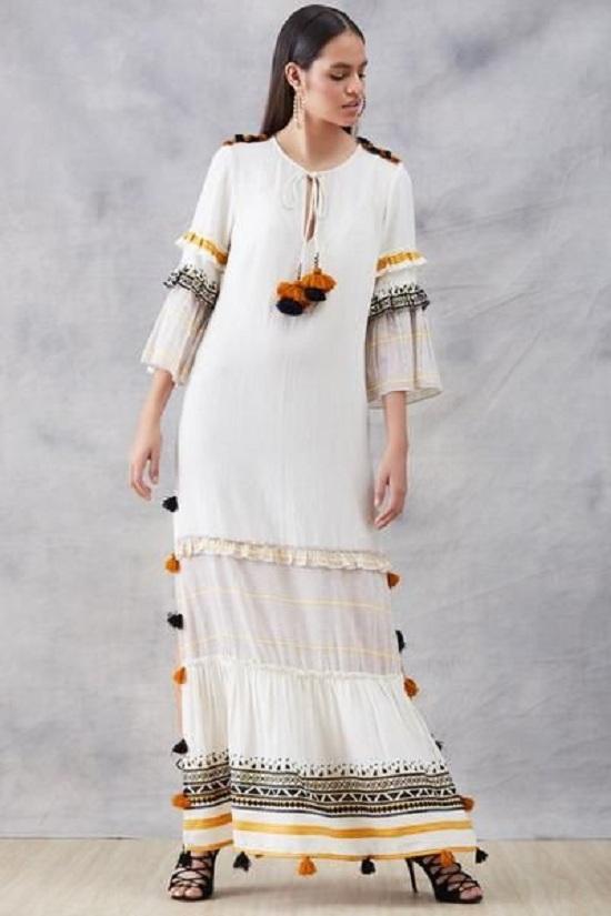 أزياء رمضانية تصلح للمحجبات وغير المحجبات  (62)