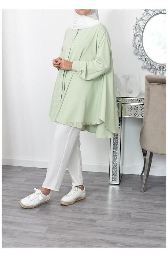 أزياء رمضانية تصلح للمحجبات وغير المحجبات  (46)