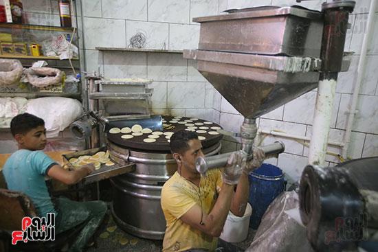 محلات بيع الكنافة