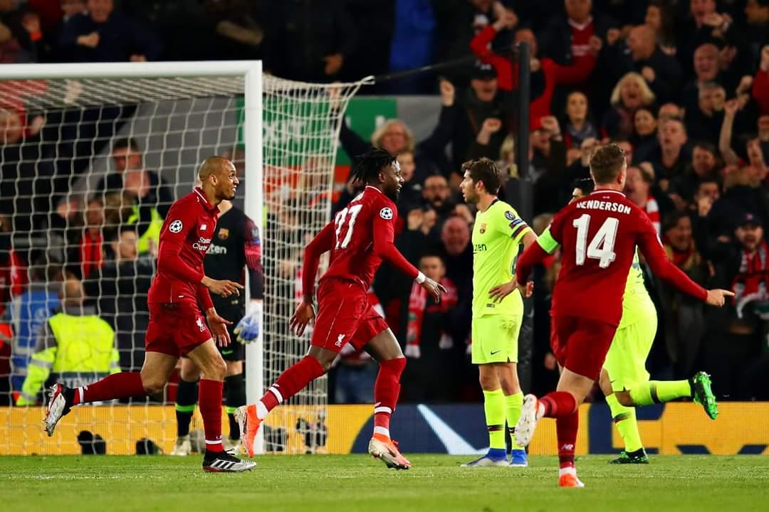 ليفربول ضد البارسا