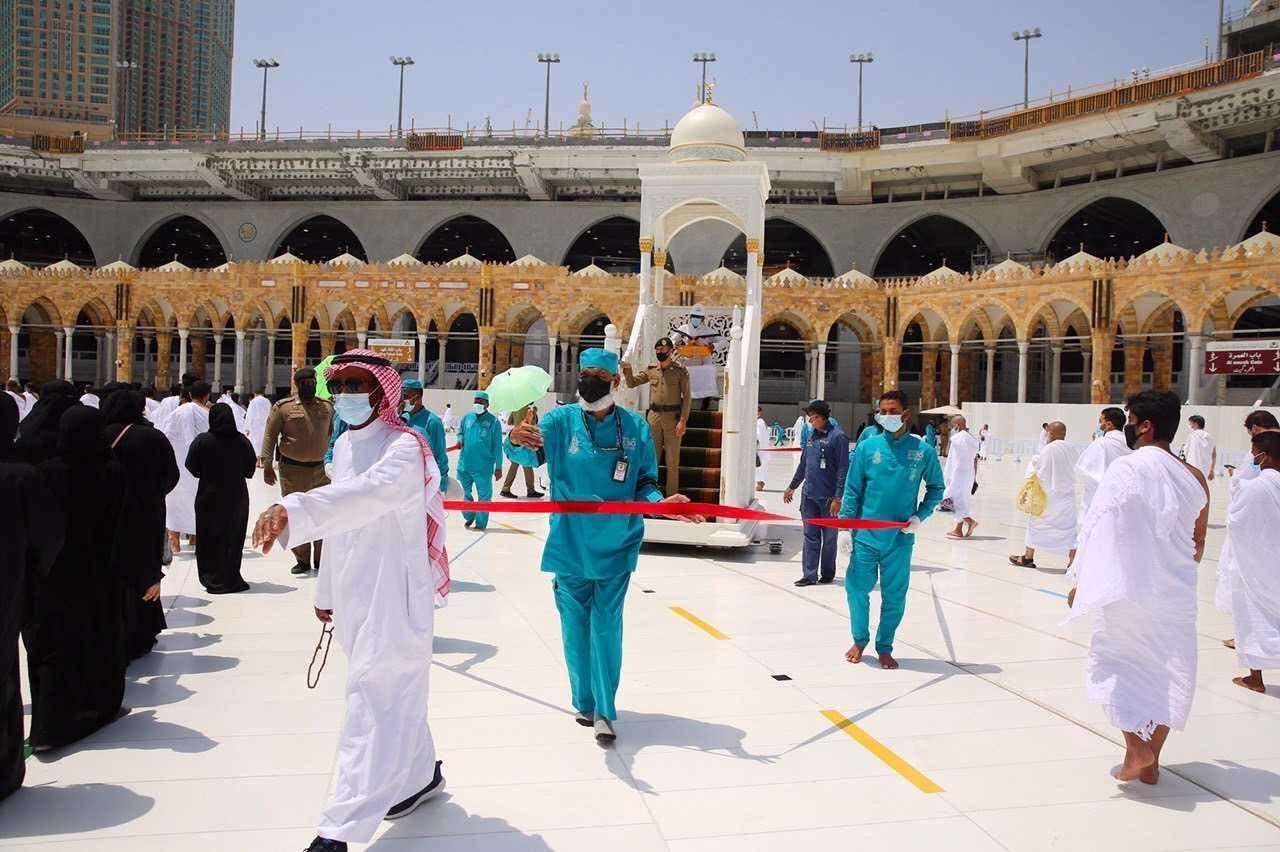 صور من المسجد الحرام