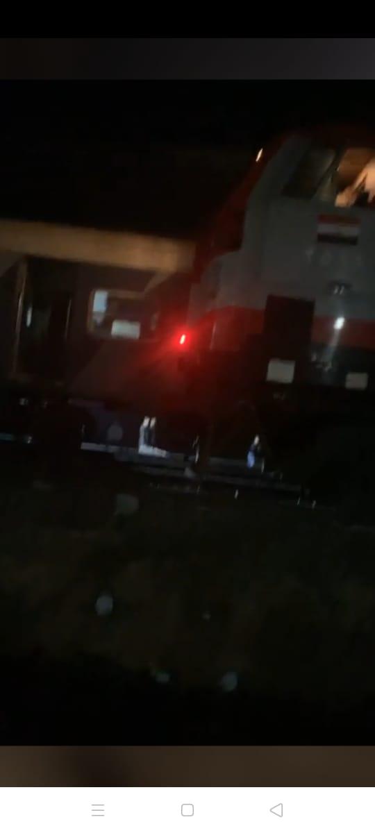 خروج قطار عن القضبان بالشرقية  (4)