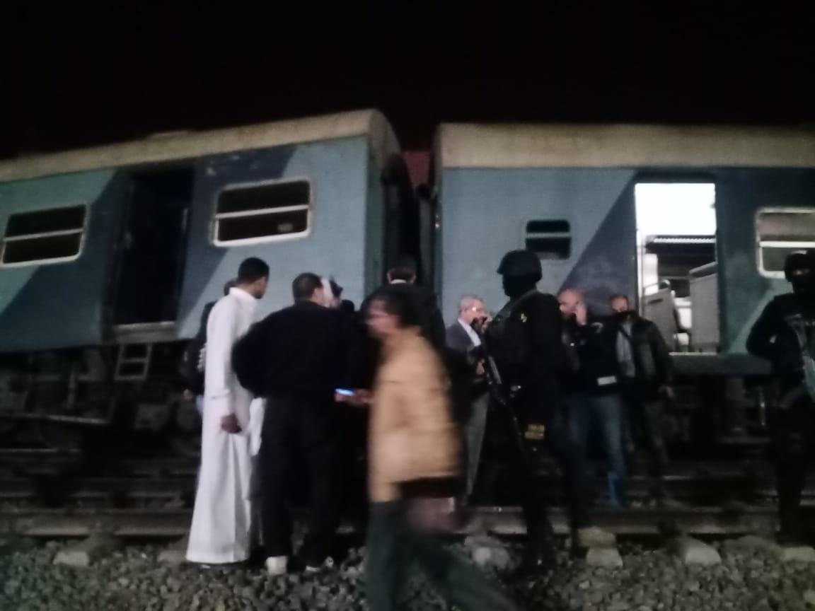 خروج قطار عن القضبان بالشرقية  (7)