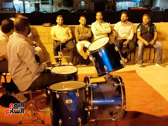 سهرة رمضانية مبهرة على طريق الكباش بالأقصر (5)