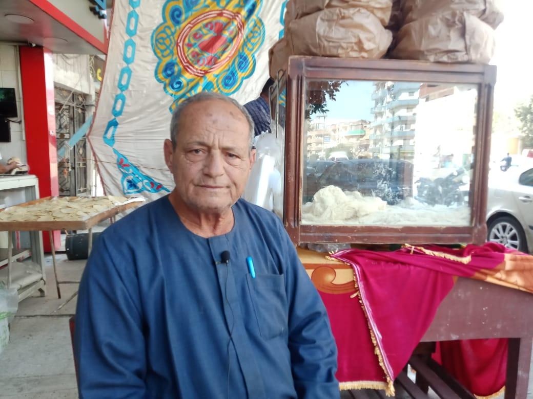 أقدم صانع حلويات رمضان بالقليوبية