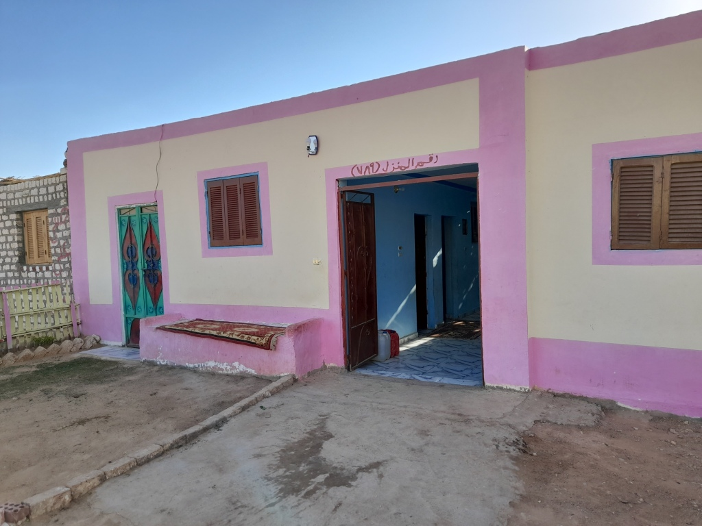 المنزل فى قرية الأشراف