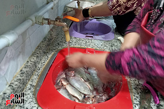 غسل-الاسماك