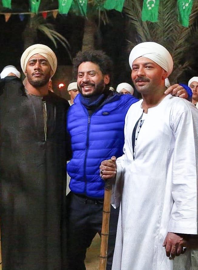 الفنان محمد احمد ماهر ومحمد رمضان