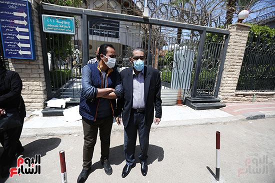 تشييع جثمان الكاتب الصحفى الراحل مكرم محمد أحمد (4)