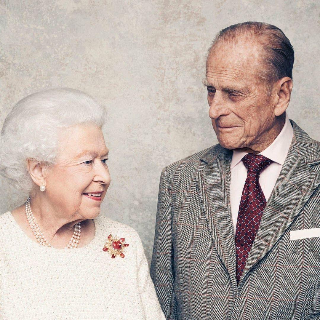 الأمير فيليب والملكة فى الاحتفال البلاتينى لزواجهما