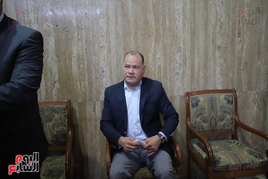 عزاء الكاتب الصحفى مكرم محمد أحمد (4)