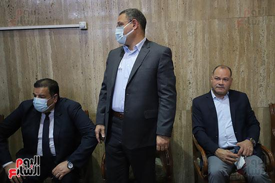 عزاء الكاتب الصحفى مكرم محمد أحمد (3)