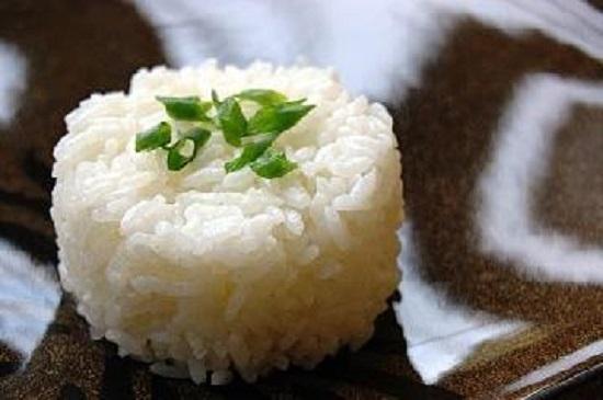طريقة الأرز المسلوق