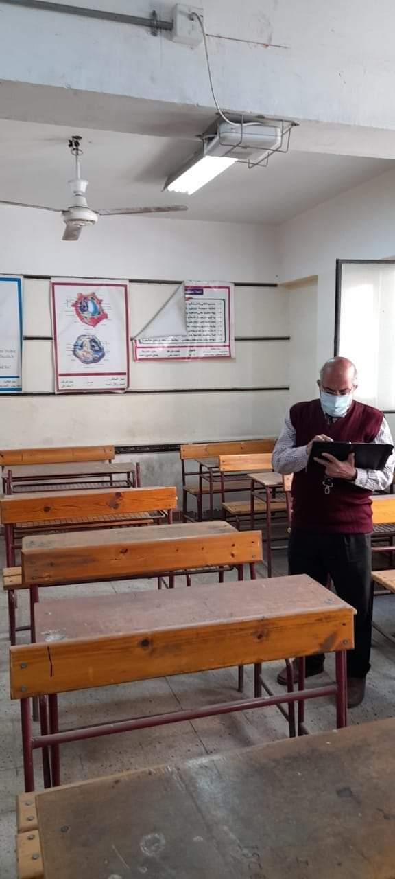 استعدادات مدارس الثانوية للامتحان التجريبى (3)