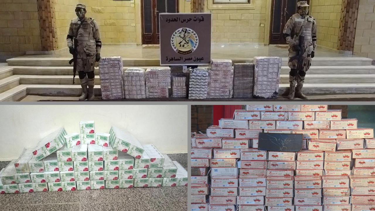 قوات حرس الحدود تضبط 125 ألف طلقة وتدمر 5 أنفاق خلال شهر  (4)