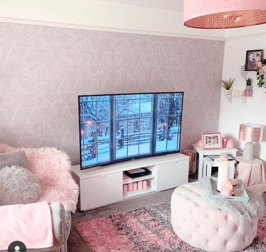 منزلها الوردي