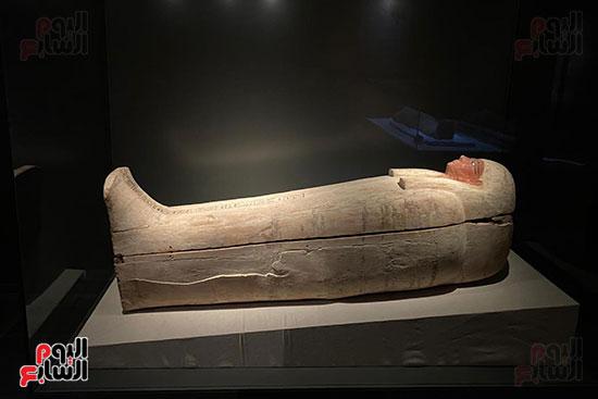 المومياوات الملكية متاحة لاستقبال الزوار بالمتحف القومى للحضارة (8)