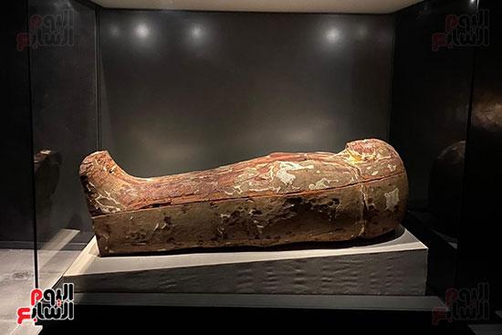 المومياوات الملكية متاحة لاستقبال الزوار بالمتحف القومى للحضارة (6)