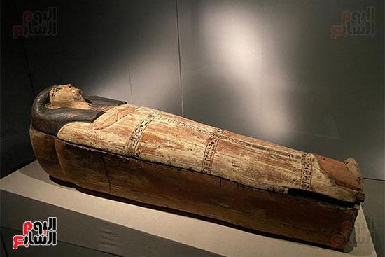 المومياوات الملكية متاحة لاستقبال الزوار بالمتحف القومى للحضارة (7)